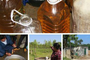 Vụ nước giếng hóa dầu ở Hà Tĩnh: Đề nghị công an điều tra