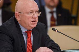 Vasiliy Nebenzya cảnh báo Mỹ về hậu quả cuộc tấn công vào Syria