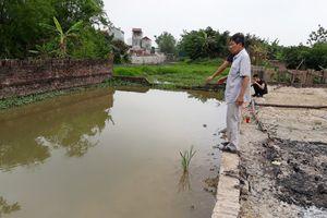 Vụ 2 cháu bé tử vong dưới ao đào trái phép: Chủ tịch TP Hà Nội chỉ đạo 'nóng'