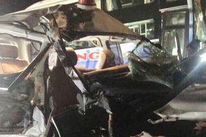 Đắk Nông: Xe cứu thương bị tai nạn làm 3 người chết, 3 người bị thương