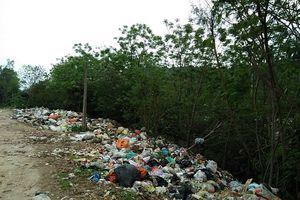 Sống chung với rác 20 năm, người dân kéo đến UBND tỉnh kêu cứu
