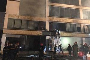 Xưởng bánh kẹo mới được xây dựng bất ngờ phát hỏa