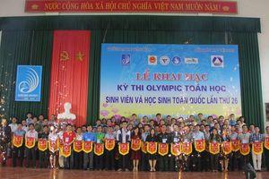 Khai mạc kỳ thi Olympic toán học sinh viên và học sinh toàn quốc lần thứ 26