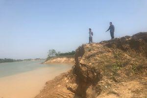 Thanh Hóa: Cát tặc đục khoét sông Chu