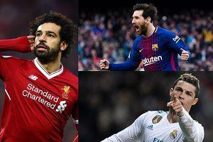 Cập nhật 'Vua phá lưới' châu Âu: Tiến 3 bước, Messi bắt kịp Salah