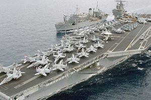 Tàu USS Harry S. Truman của Mỹ đang áp sát Syria 'khủng' thế nào?