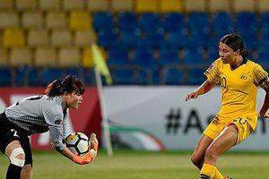 Tuyển nữ Việt Nam thua đậm Australia ở giải châu Á