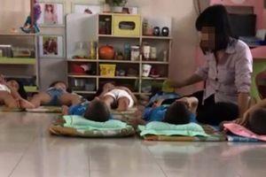 Đề nghị đình chỉ dạy đối với cô giáo bạo hành và hỏi trẻ 'là người hay thú?'