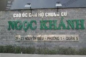 TP.HCM: Cháy nhiều, chung cư chưa được nghiệm thu PCCC