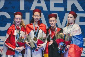 Hồ Thị Kim Ngân giành HCV taekwondo trẻ thế giới