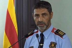 Buộc tội nổi loạn với cựu Cảnh sát trưởng Catalonia
