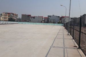 Huyện Thanh Trì: Giải tỏa bãi xe trên đất sử dụng sai mục đích