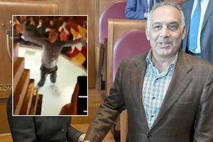 Chủ tịch AS Roma hào phóng nộp phạt sau pha ăn mừng quá trớn