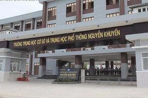 Áp lực học hành, một học sinh giỏi tự tử tại trường THCS-THPT Nguyễn Khuyến