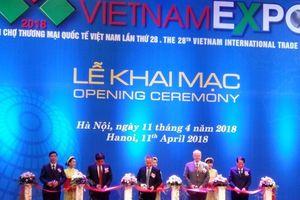 VIETNAM EXPO 2018 – Tăng cường kết nối kinh tế khu vực và quốc tế