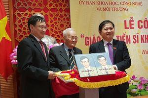 Công bố cuốn sách về cuộc đời cống hiến của GS.TSKH Vũ Đình Cự