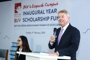 Gặp gỡ tân Tổng giám đốc của Đại học Anh Quốc Việt Nam