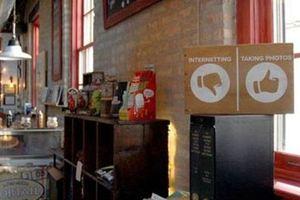Những quán cà phê không wifi