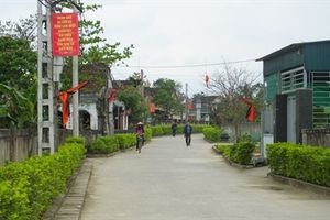 34 khu dân cư đạt giải cuộc thi Khu dân cư NTM kiểu mẫu, vườn mẫu