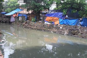 Dân thủ đô 'sống dở chết dở' vì mùi hôi thối bốc lên từ sông Cầu Đá