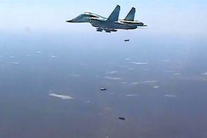 Nga tranh thủ không kích phiến quân tại Syria