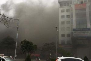Hải Phòng: Cháy lớn tại quán Beer Club