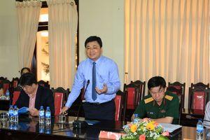 BSR làm việc với Ban Thường vụ Tỉnh ủy Quảng Ngãi