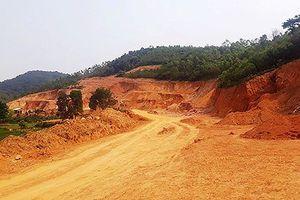 Nghệ An: Đất bị khai thác trái phép để phục vụ dự án trăm tỷ, trách nhiệm thuộc về ai?