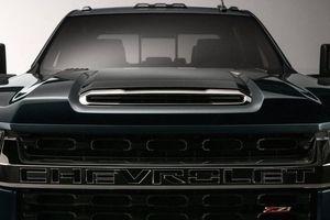Lộ thông tin đầu tiên về 'khủng long' bán tải Chevrolet Silverado HD 2020