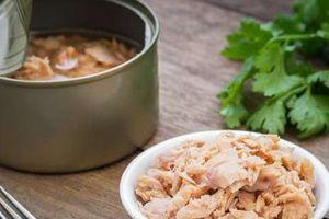 Cá ngừ đóng hộp chứa lượng kẽm cao hơn mức cho phép 100 lần