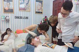 'Lòi' nhiều sai phạm tại thẩm mỹ chui ở Sài Gòn