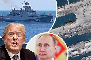 Nga xác nhận 11 chiến hạm đã rời cảng Syria