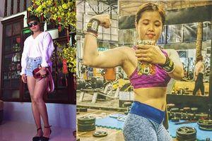 Cô gái Khánh Hòa gầy còm nhom đã trở nên mỡ màng, body miễn chê chỉ nhờ tập gym và ăn theo cách này