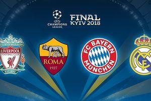 Đội hình 11 ngôi sao đáng xem nhất vòng bán kết Champions League