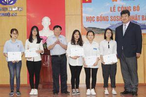 Nghệ An: 36 học sinh nhận gần 10 tỷ học bổng Soshi Nhật Bản