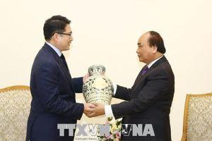 Thủ tướng Nguyễn Xuân Phúc tiếp lãnh đạo tập đoàn Hyosung