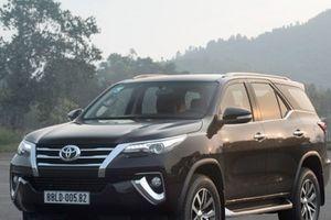 Bảng giá xe Toyota tháng 4/2018: Ưu đãi hấp dẫn