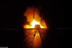 Mỹ-Anh-Pháp nã hơn 100 tên lửa vào các mục tiêu ở Syria