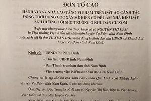 Nam Định: Xây nhà trái phép trên đất nông nghiệp, chính quyền bất lực?