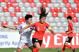 Thất bại 0-4 trước Hàn Quốc, khép giấc mơ World Cup của tuyển nữ VN
