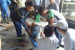 Đà Nẵng: Sập giàn giáo công trình tại khu công nghiệp Hòa Khánh