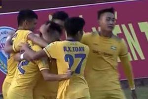 Mưa bàn thắng ở các trận cuối vòng 5 V-League 2018