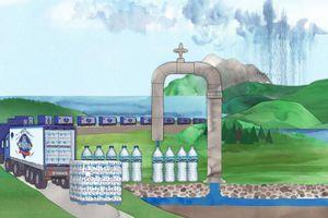 Nước khoáng Nestlé: Lợi nhuận tỷ USD mà không tốn vốn
