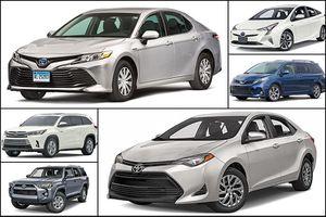 Bảng giá xe Toyota tháng 4/2018
