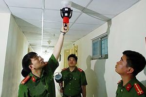 Kiểm tra an toàn PCCC tại chung cư ở Hà Nội