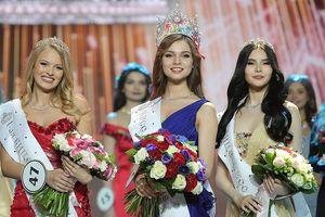 Vẻ thanh xuân tươi trẻ của cô gái 18 tuổi lên ngôi Hoa hậu Nga 2018