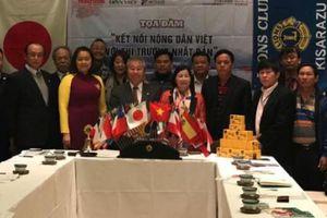 Báo NTNN/Dân Việt tổ chức tọa đàm ở Nhật giúp ND kết nối thị trường