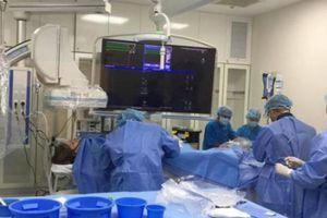 Điều trị thành công bệnh nhân tim mạch bằng phương pháp DSA