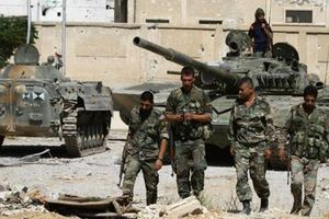 Quân đội Syria hừng hực khí thế 'xóa sổ' IS ở Nam Damascus