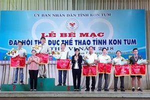 Ngành GD&ĐT Kon Tum giành giải Nhất toàn đoàn